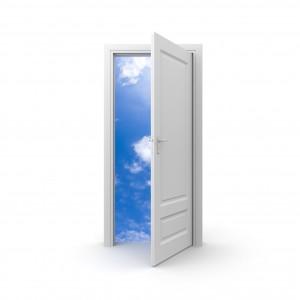 Door to sky